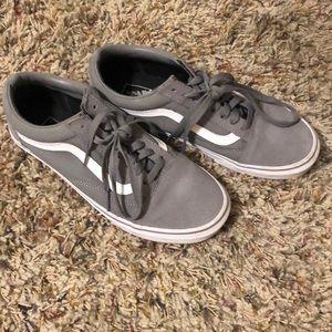 Grey Old Skool Vans